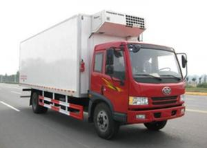 China FAW Dongfeng 4X2 Refrigerated Box Truck 5 Tons Fast Food Cooling Truck on sale