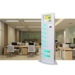 China Floor Stand Model Mobile Phone Charging Station With Safe Pin Code Lock For Cafe on sale