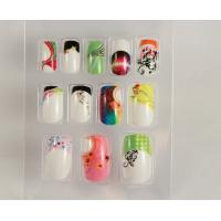 Colorful cute Spring / summer Fake Nails For Fingers for wedding
