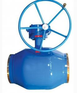 China API ISO CE Standard Floating Type Ball Valve , Gear Operated Ball Valve on sale