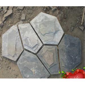 China Mosaico azul de pedra cultural do macadame da ardósia da ardósia natural on sale