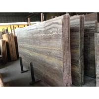 Cheap Import Silver Dark Grey Vein Cut Travertine Marble In China Marble Window Sills