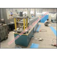 China Corrugated C Shape Stud and U Shaped Track Panel Roll Forming Machinery with 3 Tons Decoiler on sale
