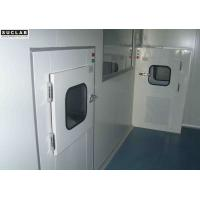 Ventilation System Air Shower Pass Box Efficient In Cleanroom Laboratory