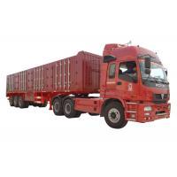 China VAN Type Heavy Duty Semi Trailers 3 Axle 45 Tons - 60 Tons Cargo Van Trailer on sale