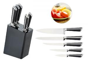 China High Hardness Plastic Knife Block , Eco Friendly Chef Knife Kit Easy Store on sale