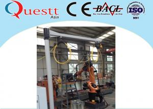 China Water Cooling YAG Laser Cladding Machine Laser Quenching With Rotate Table on sale