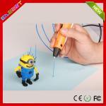 Дети Эазззы ПИ 3Д печатая граффити пишут учебное пособие для школы