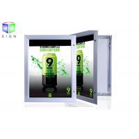Aluminum Profile Snap Lock Display Light Box Signs Outdoor Large Acrylic Sheet