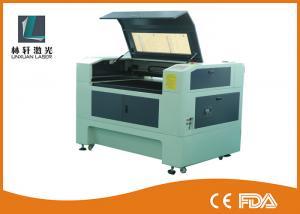 Quality Gravador do laser do CO2 do Desktop da precisão alta, máquina de gravura do laser da tela do controle do LCD for sale