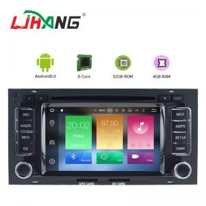 China Multi - Language Vw Touareg Dvd Player , 32 GB Flash Vw Touran Dvd Player on sale