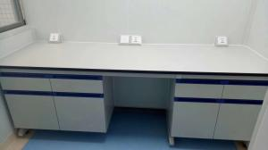 China Good Quality And Low Price Resistence To Acid And Alkali Stainless steel or Wooden Dental Lab Work Table on sale