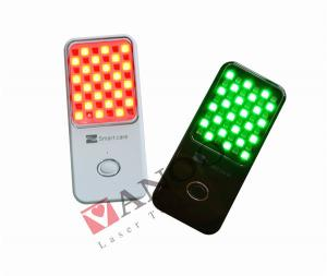 China Portable Mini Acne Treatment Machine With Pdt Red And Green Led Light on sale
