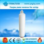 Fiberglass Pleated Membrane Filter Cartridge