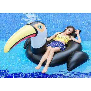 75' Black Toucan Inflatable Pool Floats Black Big mouth Bird water Float Toucan Fashion Float