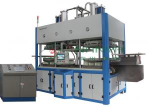 China Thermoforming Paper Pulp Molding Equipment For Top Grade Fine Molded Pulp Products on sale