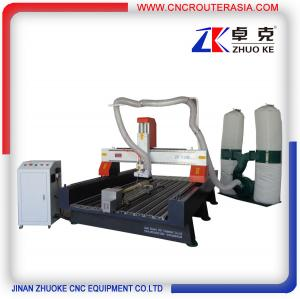 China Wood CNC Machine Router 3.2KW spindle,5.5KW dust collector ZKM-1325B 1300*2500mm supplier