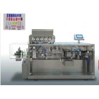 China Automatic Paste Plastic Sheet Forming Filling  Sealing Machine With 5 Filling Nozzles on sale