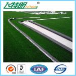 China Green Garden Artificial Grass Turfing Surface Realistic 67200 Stitches / Sqm wholesale
