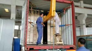 China U Shape Container Lifting Crane,C Grab  for Glass Container Crane,U Shape Glass Unloading Crane from Container on sale