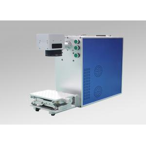 China 20W 30W Table Type Fiber Laser Marking Machine for Metalic Marking on sale