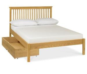 China Commercial Walnut Solid Wood Bed Frame Space - Saving Comfortable Eco -  Friendly on sale
