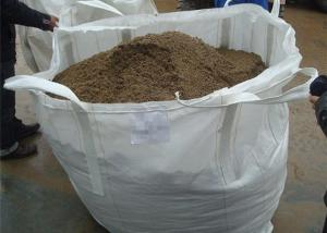 China Dust - Proof Geosynthetic Fabric FIBC Bags PP Woven Type For Agriculture Packaging on sale