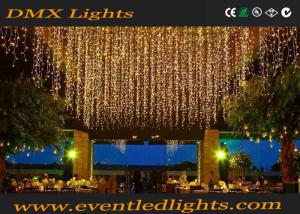 China Warm White Wedding Event Lighting Battery Operated With 2m Hang Length on sale