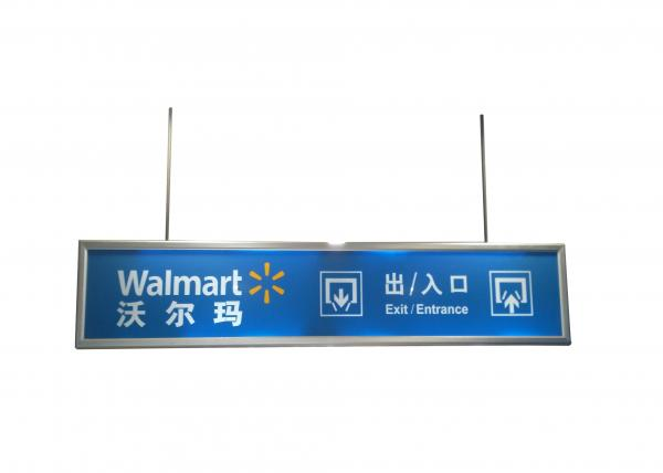 Laser Cutting Double Sides Snap Frame Led Light Box 40MM Width Wall ...