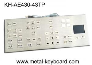 China Mounted Panel 43 Keys Rugged Industrial Computer Keyboard Colorful Icon Customized Layout on sale