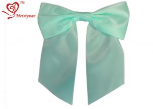 China Eco - friendly unique / pretty hair bows for little girls , cute hair ribbon bows clips on sale