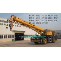 China Road Construction 40T Mobile Boom Truck Crane 4x4 For RT40E All Wheel Drive on sale
