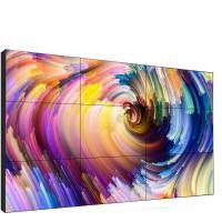 """Samsung/LG Ultra narrow bezel  3.5mm1.8mm black metal frame  3x3 2x2  46"""" 47"""" 49"""" 55"""" inch DID LCD video wall"""