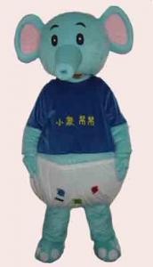 Quality adults elephants mascot party cartoon costume for party for sale