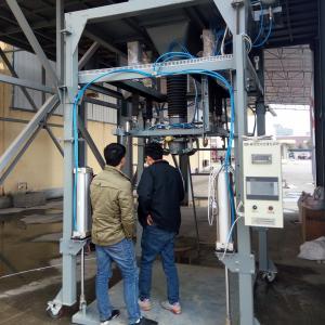 China 1.1KW Ton Urea Jumbo Bag Packing Machine For Fertilizer on sale