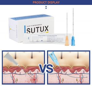 China SUTUX high-quality blunt cannulas for traditional filler injection  micro cannula on sale