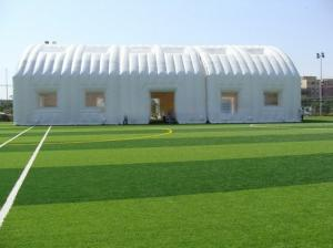 China White double layer inflatable Sports Hall Tent for tennis, football games supplier
