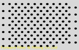 China Customized Round Hole Perforated Metal Sheet With 0.1-200mm Aperture on sale
