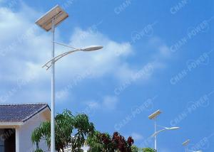 China Large Backyard Solar Lights , 45 Watt Solar Panel Garden Lights High Performance on sale