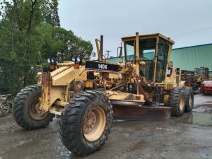 China Original Paint  Used CAT 140k Motor Grader For Sale/Used CAT Motor Grader With Powerful Engine on sale