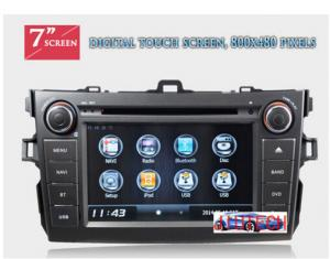 China Autoradio for Toyota Corolla Car Stereo DVD GPS Navigation System for Toyota Corolla 2007+ on sale