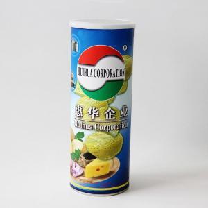 China Épluchez les boîtes composées de papier gravantes en refief scellées par aluminium pour des puces, casse-croûte on sale