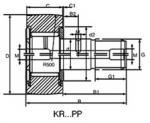 マテリアルズ・ハンドリング・システムのための軸受け:カム従節KR19|KRE19