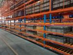 Heavy duty warehouse stacking pallet rack racking system