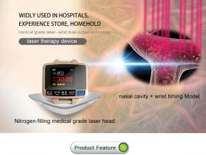 China LY-218B Therapeutic Laser Devices , Laser Light Watch Rated Voltage AC 220V on sale