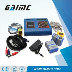China GUF130 Non-contact Handheld water Digital Ultrasonic flow meter with printer on sale