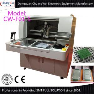 China Customized Double Table PCB Router Equipment With 450*450mm Working Area on sale