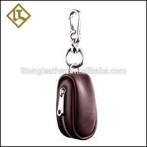 China Key tag holder Wholesale custom made leather metal key holder on sale