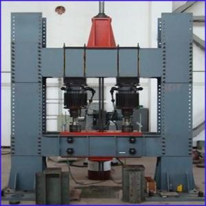 China Electro hydraulic Automobile axle pulse fatigue testing machine on sale