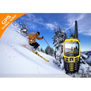 China 2.4 Color Screen Class2 Cell Phone Sports Tracker GPS With 2 Mega Pixel / FM Radio on sale